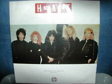 "Heart-Who will you run to 12"" P/S 1987"