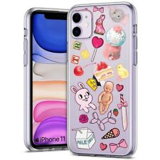 Thin Gel Phone Case for Apple iPhone 11,XS,XR,8 Series,Sticker 10 Baby Print