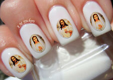Jesus & Mary Nail Art Stickers Transfers Decals Set of 30