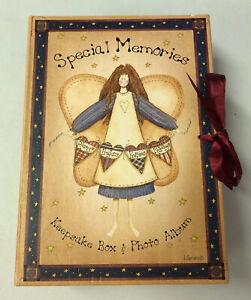 1999 Special Memories Keepsake Box & Photo Album By Linda Spivey Rare!!