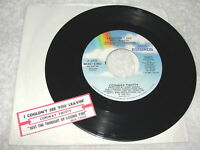 """Conway Twitty """"I Couldn't See You Leavin' """" 45 RPM, 1990, 7"""", +Jukebox Strip"""