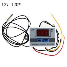 12v/24v/220v Digital LED Temperature Controller Thermostat Control Switch Probes 12v 120w
