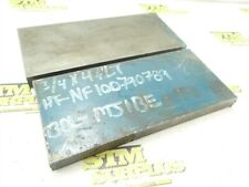 """New listing 16Lb Lot Of Solid Steel Flat Stock 3/4"""" Thickness 8-3/4"""" & 9"""" Lengths"""