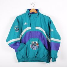 Vintage NBA Charlotte Hornets Apex One Pullover Winter Jacket *No Zip Hood (L)