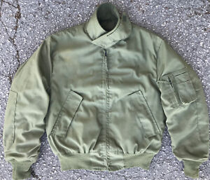 U.S. MILITARY TANKER JACKET COLD WEATHER HIGH TEMPERATURE RESISTANT M REGULAR