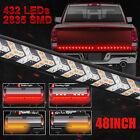 48 Led Strip Tailgate Light Bar Reverse Brake Turn Signal For Ford Dodge Truck