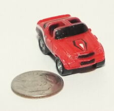 Small Micro Machine Plastic 1969 Chevy Camaro T-Top in Red