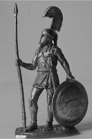 HISTORICAL TIN FIGURES ANTCIENT GREECE SPARTAN HOPLITE 480 BC 54MM 1/32 AG11