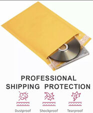 50 Pack 4x 6 Small Self Seal Kraft Bubble Mailers Padded Envelopes