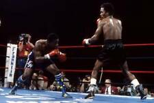 Old Boxing Photo Sugar Ray Leonard Moves To Land A Punch Against Kevin Howard