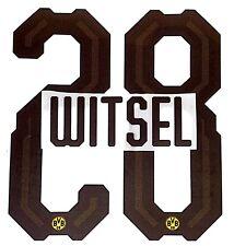 2018-19 Dortmund Home Shirt WITSEL#28 Official Football Name Number Set