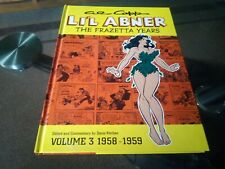 Little Abner Hardcover illustrated Graphic Novels Rare Collectibles Comic Book