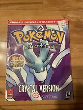 Pokemon Crystal Version Official Strategy Guide Prima SHIPS FREE