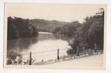 Juniata River East Of Everett Pa Usa Vintage Rppc Postcard Us055