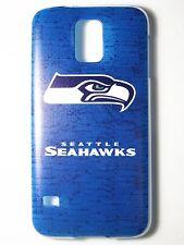 NFL Seattle Seahawks Logo Samsung Galaxy S5 G900 Plastic One-Piece Slim Case