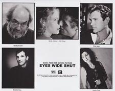 Vintage Press Photograph Eyes Wide Shut - Warner/Sunset Records