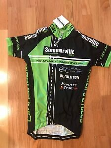 SOMMERVILLE Sports Cycling Race Jersey Women's Small Mid-Atlantic Jr.