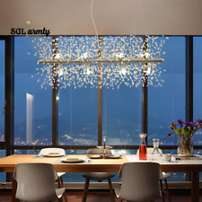 Modern Linear Dandelion Chandelier Firework Pendant Lamp Ceiling Light Fixtures