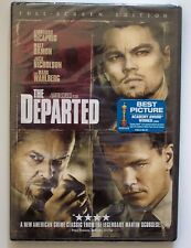 THE DEPARTED DVD - JACK NICHOLSON, MATT DAMON, LEONARDO DICAPRIO -FACTORY SEALED