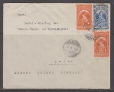 Ethiopia 1935. Cover to Switzerland.
