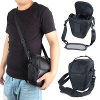 Waterproof Backpack SLR Case Camera Bag for Canon Nikon Sony SLR DSLR Black