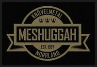 OFFICIAL LICENSED - MESHUGGAH - CREST SEW ON PATCH HEAVY METAL SWEDEN