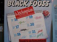 """7"""" COVER - BLACK FÖÖSS - Wochenplan / Wochenplan auf Kölscher Fassung - EMI"""