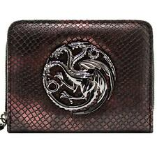Official Game of Thrones Dragon Wing Zip Coin & Card Clutch Purse *SECOND*