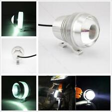 Cree U3 LED 12V 30W Motorcycle Car#B Angel Eye Driving Fog Spot Head Light White