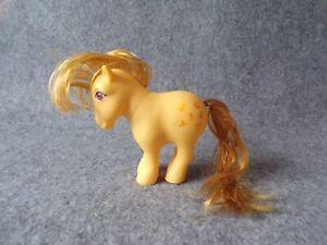 Vintage G1 My Little Pony Butterscotch Figure Doll, Hasbro Generation 1
