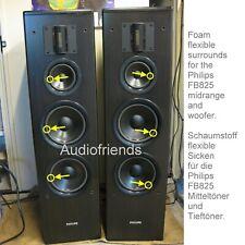 Philips FB825 > Schaumstoff Flexible Sicken für 4x Tieftöner + 2x Mitteltöner