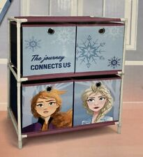 Disney Frozen 4 Drawer Chest Of Drawers Toys Storage Unit Kids Bedroom Organiser