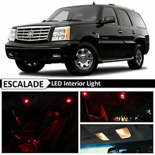 16x Red Interior Map Dome LED Lights Package for 2002-2006 Cadillac Escalade SUV