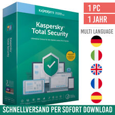 Kaspersky Total Security 2021 |1 Gerät 1 Jahr| inkl. Internet Security