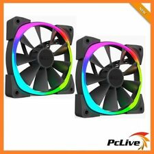 2X NZXT 120mm Aer RGB II Case Fan for HUE 2 1500RPM 4-pin PWM LED Gaming 12cm