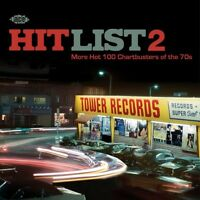 HIT LIST 2 - MORE HOT 100 CHARTBUSTERS OF THE 70S  CD NEU ALICE COOPER/REUNION/