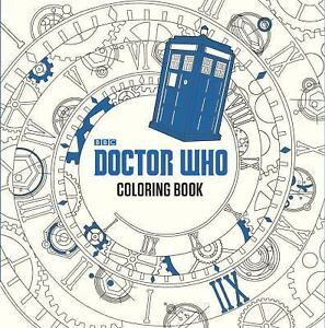 Doctor Who Adult Coloring Book by Price Stern Sloan PB 2016
