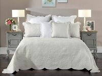 Bianca Candace Silver Bedspread Set in All Sizes