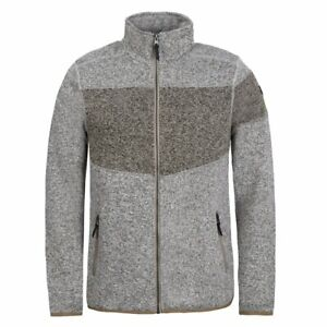 Icepeak Alberton marron, veste polaire urbaine homme