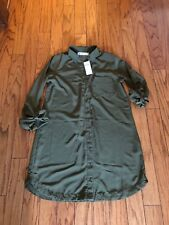 New Abercrombie & Fitch Womens Button Dress Shirt~NWT~Size S