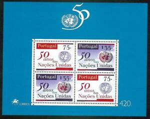 Portugal 1995 - 50 Years United Nations S/S MNH