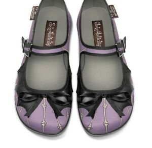 Hot Chocolate Design Chocolaticas Betty Bones Mary Jane Flats Shoes Size 38 US 8