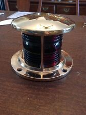 Antique Soup Can Bow Light Boat Gawwood Hacker  Chris Craft Pre War   PB