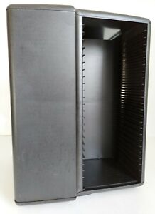 Laserline 100 CD Carousel Spinning Plastic Storage Tower Rack Good Condition!