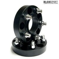 35mm PCD 5x120 cb 72.5 Wheel Spacer HUB CENTRIC inc m14x1.5 bolts Nuts