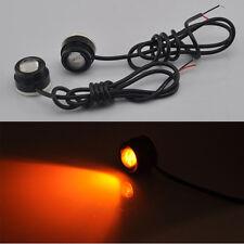 Amber High Power LED Eagle Eye Car Turn Signal DRL Fog Daytime Running Light