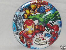 New Marvel Super Hero Squad Dinner Plates Party Supplies