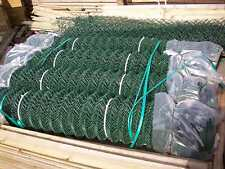 25 m roll 2.4m GREEN CHAINLINK mesh security fencing