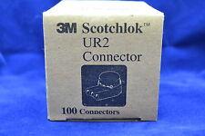 3M UR2 Scotchlok Low Voltage Splice Telephone Connectors Box of 100 ct