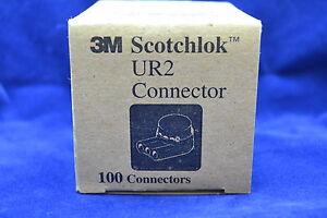 3M UR2 Scotchlok Low Voltage Telephone Cable Splicing Connectors bag of 100 ct